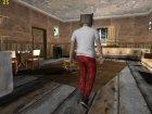 Skin HD GTA V Online парень в маске волка for GTA San Andreas inside view