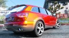 2009 Audi Q7 AS7 ABT 1.3 для GTA 5 вид сзади