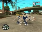 Command Wolf (Zoids) for GTA San Andreas inside view