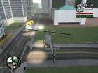 Запуск ракет с автонаведением для GTA San Andreas вид сзади слева