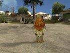 Микеланджело (Черепашки-ниндзя) for GTA San Andreas inside view
