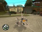 Double Arm Lizard (Zoids) для GTA San Andreas вид сзади слева
