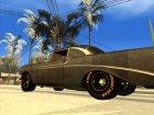 Chevrolet Bel Air 1956 Rat Rod Street for GTA San Andreas inside view