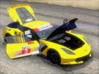 Chevrolet Corvette C7R GTE 2014 (Paintjobs Part 1) для GTA San Andreas вид сзади
