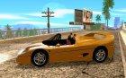 Ferrari F50 Spider 1995 for GTA San Andreas left view