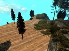 Mount Chilliad Retextured для GTA San Andreas вид изнутри