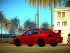 Mitsubishi Lancer GSR Evolution VIII 2003 for GTA San Andreas back view