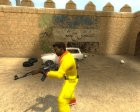 Ali G Skin for Counter-Strike Source top view