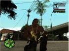 Gold Guns Pack для GTA San Andreas вид изнутри