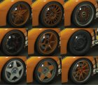 Real Wheels Pack for GTA 5 left view