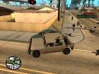 Современная армия v2.0 для GTA San Andreas вид изнутри