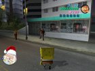 Sponge Bob for GTA Vice City rear-left view