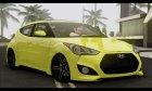 Hyundai Veloster для GTA San Andreas вид сзади