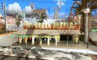 Новый Год на Гроув Стрит для GTA San Andreas вид изнутри