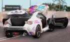 Subaru BRZ Kotori Minami for GTA San Andreas top view