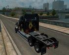 Freightliner Coronado для Euro Truck Simulator 2 вид сзади слева