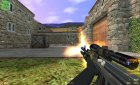 Custom Camo AK-47 On Latmiko Animation for Counter-Strike 1.6 left view