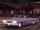1963 Chevrolet Impala SS для GTA San Andreas вид сверху