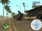 Спидометр для GTA San Andreas вид слева