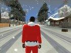 Красная куртка Санта Клауса for GTA San Andreas inside view