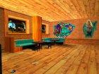 Новые текстуры бара на Grove street для GTA San Andreas вид сзади слева
