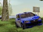 Volkswagen Golf Mk5 GTI для GTA San Andreas вид изнутри