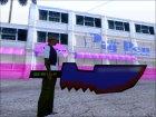 Мультяшный меч для GTA San Andreas вид слева
