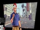Новогодние загрузочные экраны для GTA 5 вид сзади слева