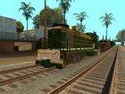 Пак реальных поездов V.1 от VONE для GTA San Andreas вид сбоку