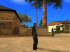 Alonzo from Training Day для GTA San Andreas вид слева