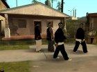 Новые чёрные грувцы! для GTA San Andreas вид сверху