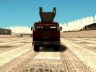 КамАЗ АЛ-30 для GTA San Andreas вид сзади слева