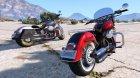 Harley-Davidson Fat Boy Lo Vintage 2.0 for GTA 5 inside view