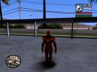 Ironman MK 3 Space GoTG Red для GTA San Andreas вид слева