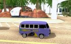 Coordenadas - VW Komby Stunt Brasil for GTA San Andreas inside view