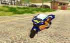Honda Repsol Rossi for GTA San Andreas top view