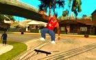 Skate для GTA SA for GTA San Andreas left view