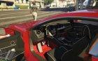 Ferrari FF for GTA 5 top view
