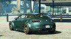 Alfa Romeo Brera Custom для GTA 5 вид сзади слева