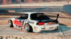 Mazda RX7 Rocket Bunny FD3 MadBULL for GTA 5 left view