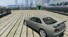 Nissan Skyline gtr34 VOLK rims for GTA 4 rear-left view