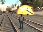 Бомбы с д/у и бомбы из машины без ограничений для GTA San Andreas вид слева