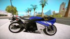 Yamaha YZF-R1 PJ for GTA San Andreas rear-left view