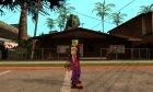 Клоун из Алиен сити for GTA San Andreas left view