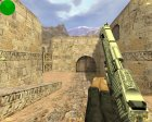 Engraved Desert Eagle (Серебренный) для Counter-Strike 1.6 вид слева