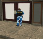 Русский охранник for GTA San Andreas left view