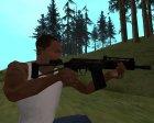Пак на замену оружия для GTA San Andreas вид сзади