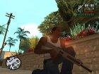 Пак качественного оружия для GTA San Andreas вид сбоку