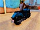 Honda Valkyrie GL1800C 2015 for GTA San Andreas top view