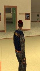Беркут (украинский ОМОН) for GTA San Andreas left view